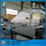 Proceso del rodillo enorme que raja la máquina el rebobinar del tejido de tocador del precio del equipo