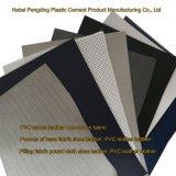 Cuero del PVC del cuero artificial del cuero de zapatos de los deportes al aire libre del PVC de la certificación Z044 del oro del SGS