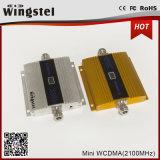 Mini amplificador móvil de la señal de WCDMA 2100MHz 3G con el LCD