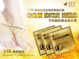 Dead Foot Peeling Mask Afy 24k Gold Revitalizing Exfoliazting Softening Foot Care Foot Mask를 제거하십시오
