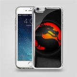 L'anti caisse de téléphone de densité d'impression transparente pour l'iPhone 6/6s conçoivent l'anti caisse de couverture de téléphone mobile de densité