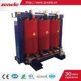 Scb10-100kVA 11/0.4kv 3 단계 건조한 유형 변압기
