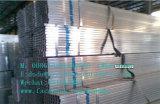 Горячего DIP гальванизировать стальная труба для рамки парника