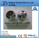 低価格1/2 304のステンレス鋼の球、ワームギヤ球弁、