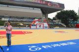 Silikon PU-Gummi Sports Bodenbelag der Berufsflexibilität