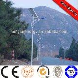 5 años de garantía Certificado ISO 30W-120W de luz solar de la calle
