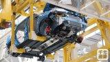Planta de fabricación de la producción del coche con la robusteza