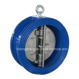 Тип задерживающий клапан вафли диска двойника