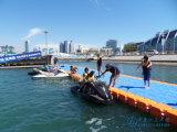 Embarcadero flotante del dique flotante