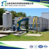 a planta do tratamento da água do desperdício da água de esgoto 60tpd doméstica, remove o bacalhau, BOD