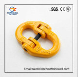 La baisse a modifié la biellette de levage de chaîne de l'acier G80 allié