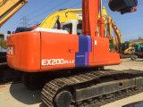 Excavador usado de la correa eslabonada de Hitachi Ex200-2 para la venta