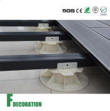 Basamento di plastica poco costoso per il supporto del pavimento esterno di Decking