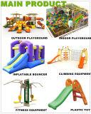 Campo de jogos de escalada ao ar livre da corrediça das crianças coloridas do projeto (PY1201-20)