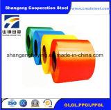 De vooraf geverfte Gegalvaniseerde Rollen van het Staal van de Staalplaat PPGI/de Kleur Met een laag bedekte Rol van het Staal
