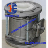 Válvula de bola de gas API de acero fundido de alta presión