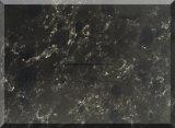 Pietra artificiale nera di marmo per il controsoffitto del quarzo