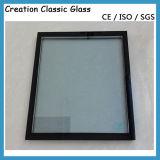 5+12A+5mmの二重緩和された絶縁されたガラス