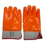 3 Handschoen van het Werk van de Veiligheid van de Handschoenen van de Winter van pvc van de laag de Handschoenen Geïsoleerdec