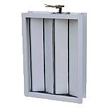 Diffuseur en aluminium d'air d'amortisseur de contrôle du volume de climatisation