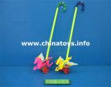 昇進のプラスチック押す蜂のおもちゃ押しの車輪(1040902)