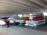 Liya mini barco inflable del Portable del PVC de los 2m a de los 6.5m