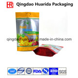 Пластичные раговорного жанра мешок/мешок для высушено - плодоовощ с застежкой -молнией