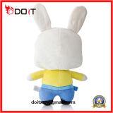 Giocattolo del coniglio farcito coniglio su ordine della peluche del giocattolo della peluche