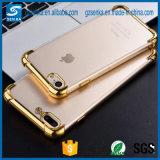 Los accesorios del teléfono móvil borran la caja suave cristalina transparente del teléfono móvil de la impresión de TPU para el iPhone 6/7 caja/cubierta del teléfono