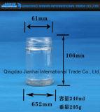 Vaso del miele/bottiglia di vetro di verdure dei sottaceti