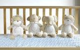 공장 공급 유기 직물 연약한 아기 견면 벨벳 장난감