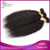 Cheveux humains droits de Yaki de prolongation de cheveux humains de 100%