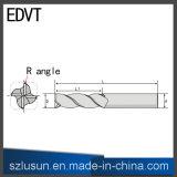 Edvtの角の半径の端製造所4の刃の切削工具