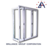 Bi-plegable Puerta de aluminio As2047 Australia Standard / Bi-aluminio plegable Puerta