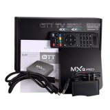 Mxq 직업적인 인조 인간 5.1 Kodi 15.2 Amlogic S905 텔레비젼 상자