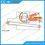 Do cilindro aprovado Chipper de madeira elétrico do Ce do T/H de Ly-318 18-20 raspadora de madeira