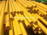 Tubo redondo de FRP/GRP/tubo redondo de la fibra de vidrio/tubo plástico