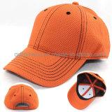 Gorra de béisbol 100% del deporte de la tela del poliester de la alta calidad (TMB4474)