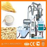 Farinha de trigo que processa moinhos, fábrica da fábrica de moagem do trigo da grão