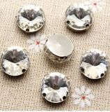 DIY 옷 액세사리 (SW Rivoli/A)를 위한 Rivoli 모조 다이아몬드 공상 아크릴 다이아몬드를 꿰매는 느슨한 클로