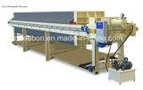 Imprensa de filtro mecânica industrial do aperto