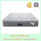 2017 Comfortable Double Pocket Coil Spring Memory Foam Mattress-R27