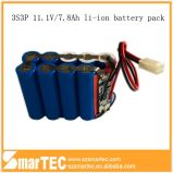 Navulbare Highquality Lithium Battery 11.1V 7800mAh voor Industrial