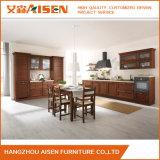 Gabinete de cozinha americano modular da madeira contínua melhor com projeto simples