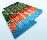 Prepainted 건축재료 색깔 입히는 물결 모양 강철 루핑 장을%s 벽을%s 색깔 루핑 장