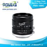 """2/3 """" de Fa/Machine Vision Lens de 1.5 Mega Pixels"""