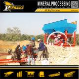 Sand-Mineralaufbereitenrüttelnde Trennung-Maschinen-Goldspannvorrichtungs-waschende Pflanze