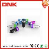Carregador duplo do carro do USB da melhor bateria móvel colorida por atacado mini