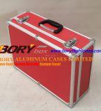 Herramientas de aluminio duro lleva almacenaje del caso