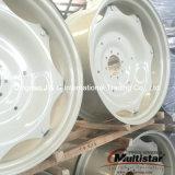 Rotella d'acciaio W12X24, orlo 13.6-24, una rotella dell'azienda agricola del trattore W15X34 dei 16.9-34 pneumatici